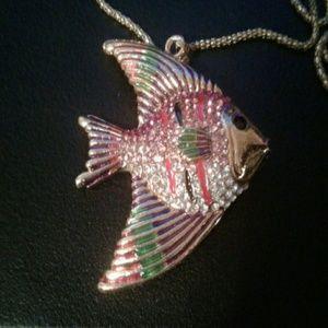 Jewelry - Angel Fish statement necklace